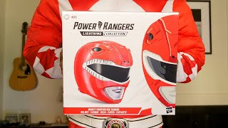 Morph into the RED RANGER with this wearable helmet (Unboxing)
