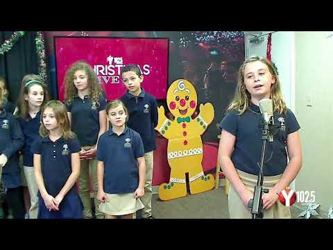Y102.5 Christmas Live with Charles Towne Montessori School