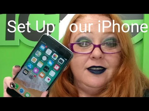 How To Set Up Your New IPhone And Create An ICloud Account