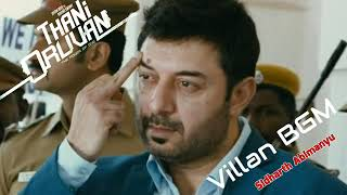 Thani Oruvan Villan BGM ✔️ NO COPYRIGHT  Aravinth Swamy Theme Music  Thani Oruven bgm  villan BGM360