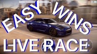 CSR Racing 2 How To Win Live Races Easy? T4 GT-R 35 Premium