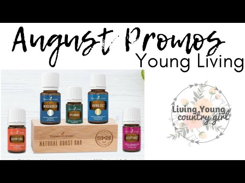 Superieur AUGUST PROMOS || YOUNG LIVING : US