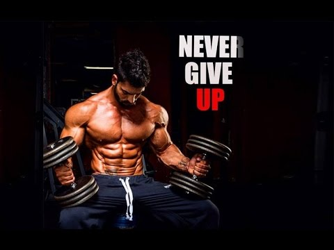 Bodybuilding motivation never give up youtube - Never give up wallpapers desktop hd ...