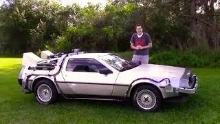 Delorean Машина из будущего лучший автомобиль