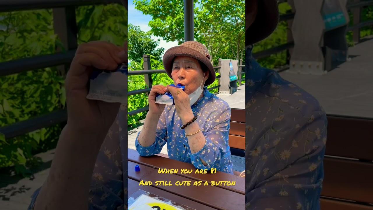 Grandma OK at a park #shorts #grandmaok