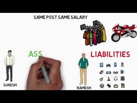 How To Get Rich - Assets vs Liabilities