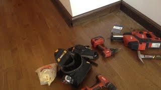 видео Как выбрать и правильно установить деревянный плинтус из массива