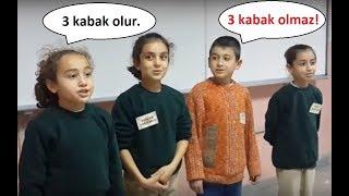 Sınıf içi Kabak Oyunu