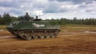 Армия 2016. Подготовка к динамическому показу.