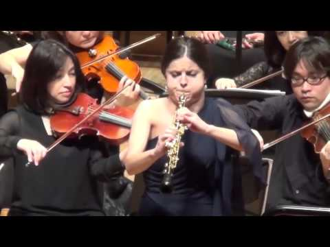 Cristina Gómez Godoy: R. Strauss Oboe Concerto @ Color Philharmonic Orchestra 5th concert