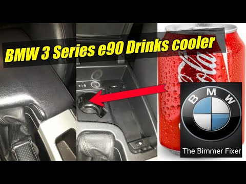 BMW 3 Series Drink cooler under the armrest....Did you know?