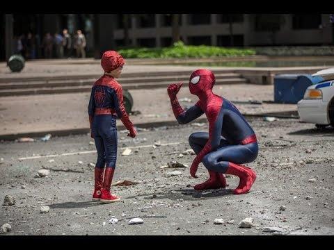 Мультфильм кино человек паук