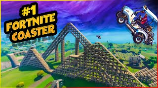 MOST REALISTIC FORTNITE ROLLER COASTER