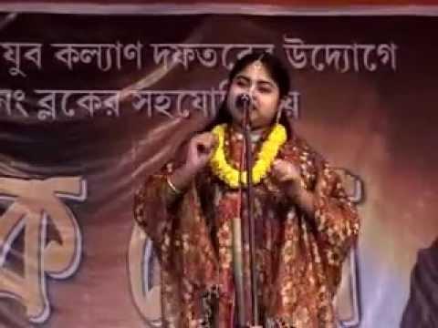 Vivek mela part 8 - Anuradha Bhattacharya singing kirtan at srikhanda