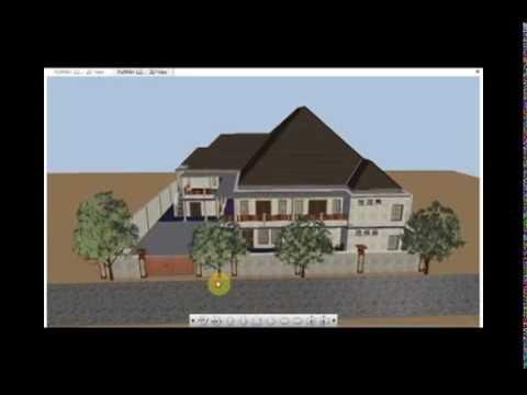 NEW BLESSED HOME DESIGN 25m X 25m - KEDAI LOMBOK PENAMPARAN