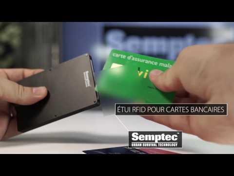 Custodie portadocumenti RFID Blocker Pochette de protection RFID pour carte bancaire Accessori da viaggio