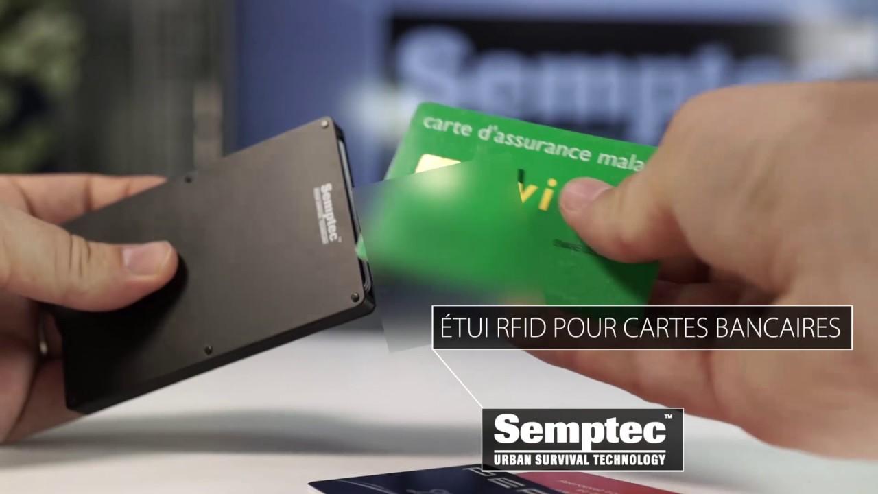 ETUI RFID POUR CARTES BANCAIRES - sécurité informatique -  PEARLTV ... 432fffda16e