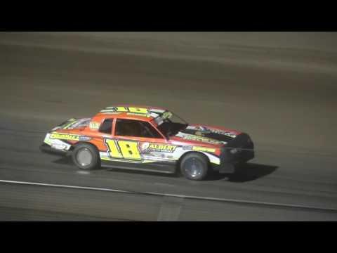 IMCA Stock Car feature Independence Motor Speedway 5/6/17
