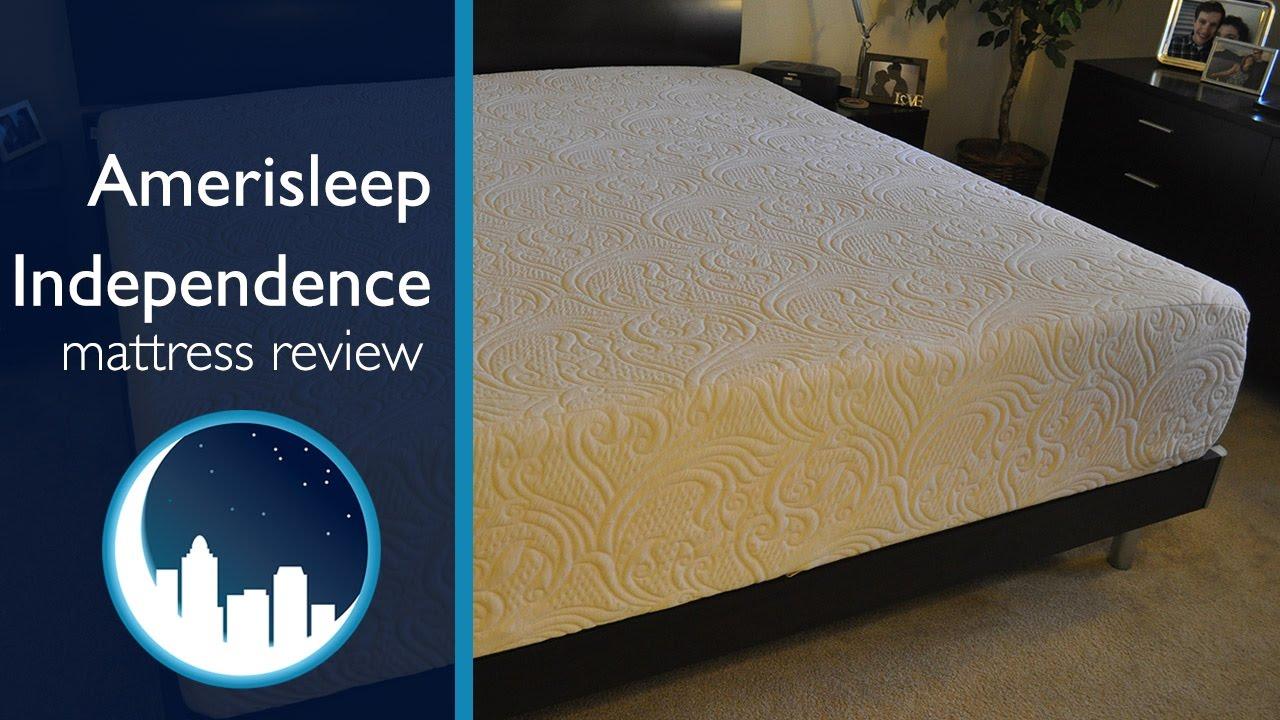 amerisleep independence mattress review - youtube