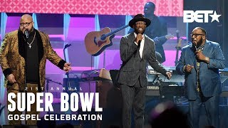 Commissioned Reunites To Perform Medley Of Their Greatest Gospel Hits | Super Bowl Gospel 2020