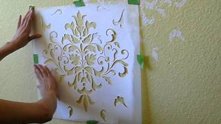 Allover Wall Stenciling