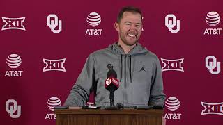 OU Football - Lincoln Riley talks Baylor, TCU