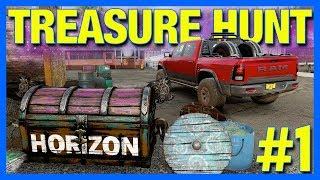Forza Horizon 4 Fortune Island Gameplay : Treasure Hunting & Drift Road!! (Part 1)