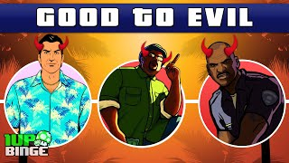 Grand Theft Auto 3D Universe Characters: Good to Evil (GTA III, Vice City & San Andreas)