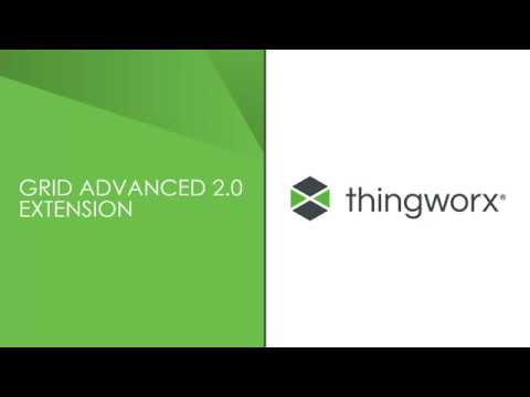 ThingWorx Grid Advanced 2 0 Extension