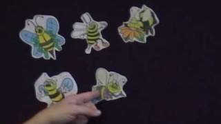 6 Buzzing Bees Flannel Story