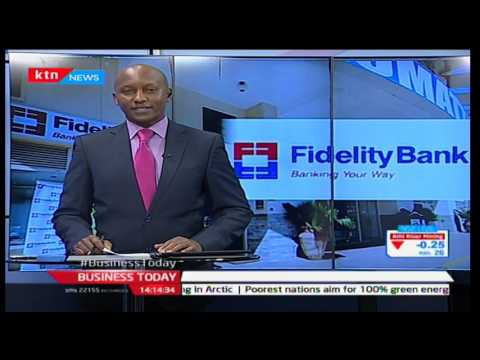 Business Today 22nd November 2016 - Central Bank of Kenya approves purchase of Fidelity Bank