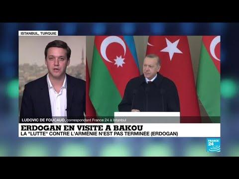 Recep Tayyip Erdogan en visite à Bakou : Le président turc fête la victoire dans le Haut-Karabakh