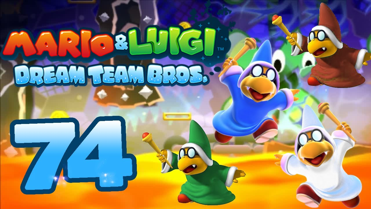 Let S Play Mario Amp Luigi Dream Team Bros Part 74 Final