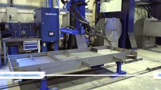 PEMA Automated Fabrication and Welding -TEKLA Integration