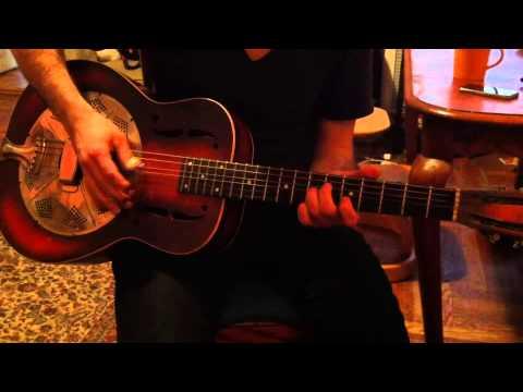 Guitar Lesson - Deep River Blues.
