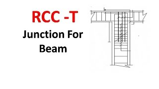 RCC -T Junction For Beam