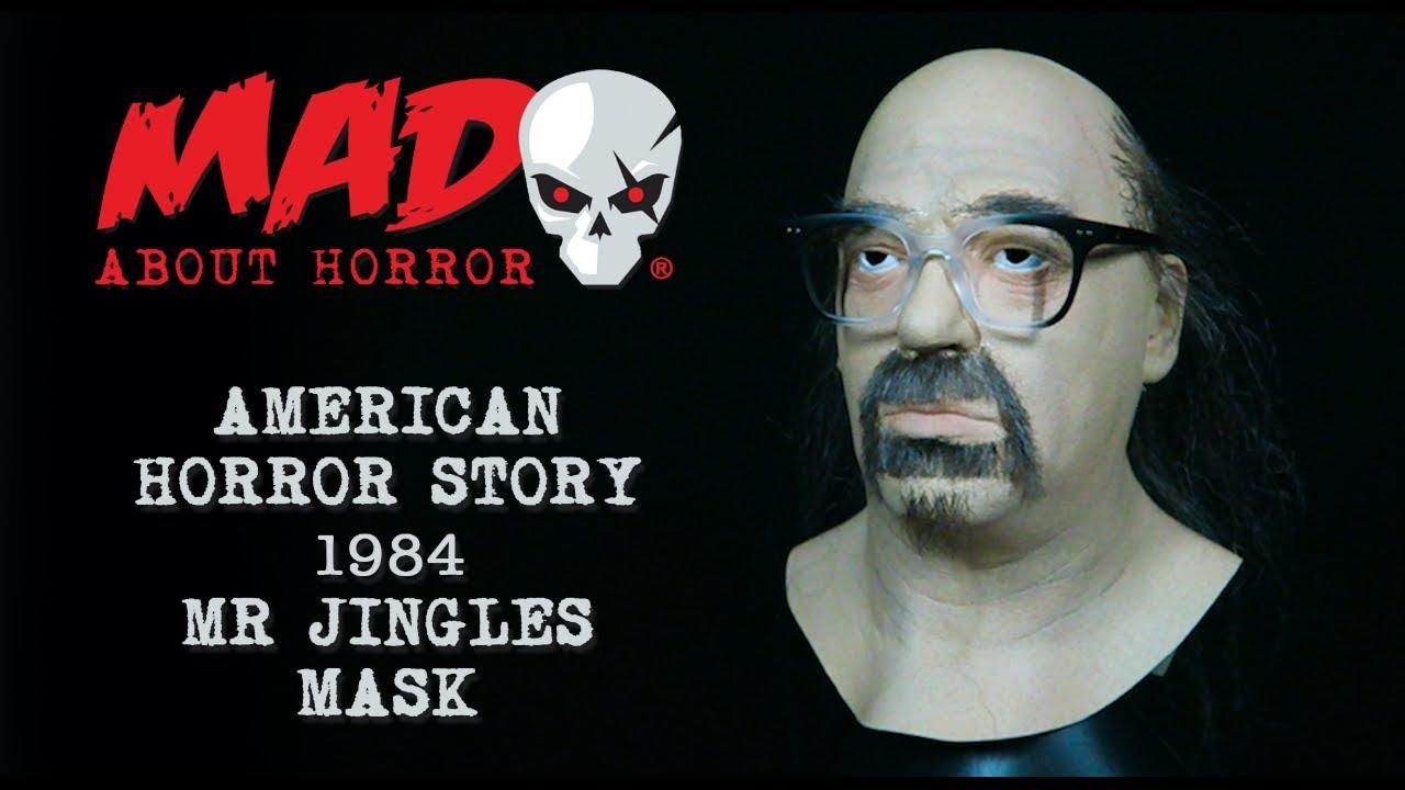 American Horror Story 1984 Mr Jingles Mask Youtube