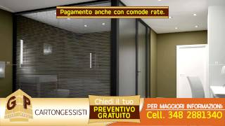 CARTONGESSITA - MONTAGGIO E POSA PARETI VELETTE IN CARTONGESSO IGNIFUGO - IMOLA BOLOGNA FAENZA LUGO