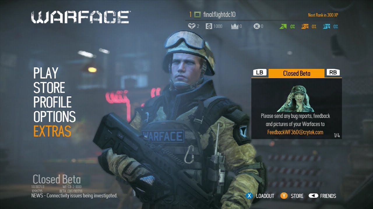 warface beta