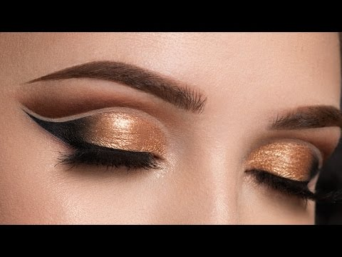 Copper Double Cut Crease  Makeup Tutorial