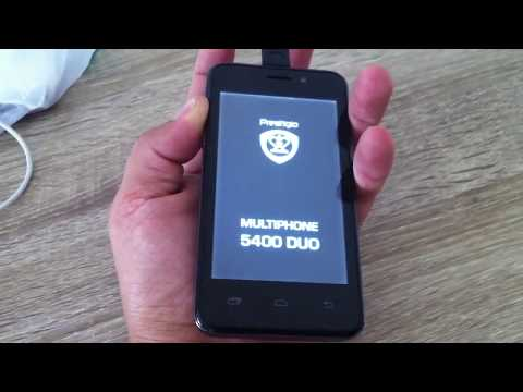 Prestigio MultiPhone 5400 DUO hard reset