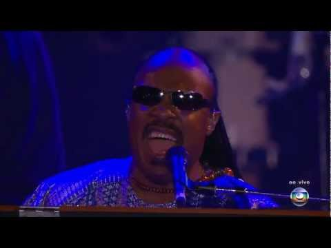 Stevie Wonder - The Way You Make Me Feel Live Rock In Rio 2011 [HDTV]