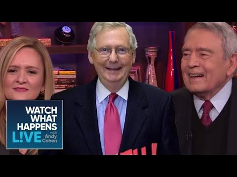 Dan Rather Shades Mitch McConnell And Steve Bannon | WWHL