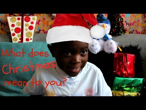 what does christmas mean to you small people big topics