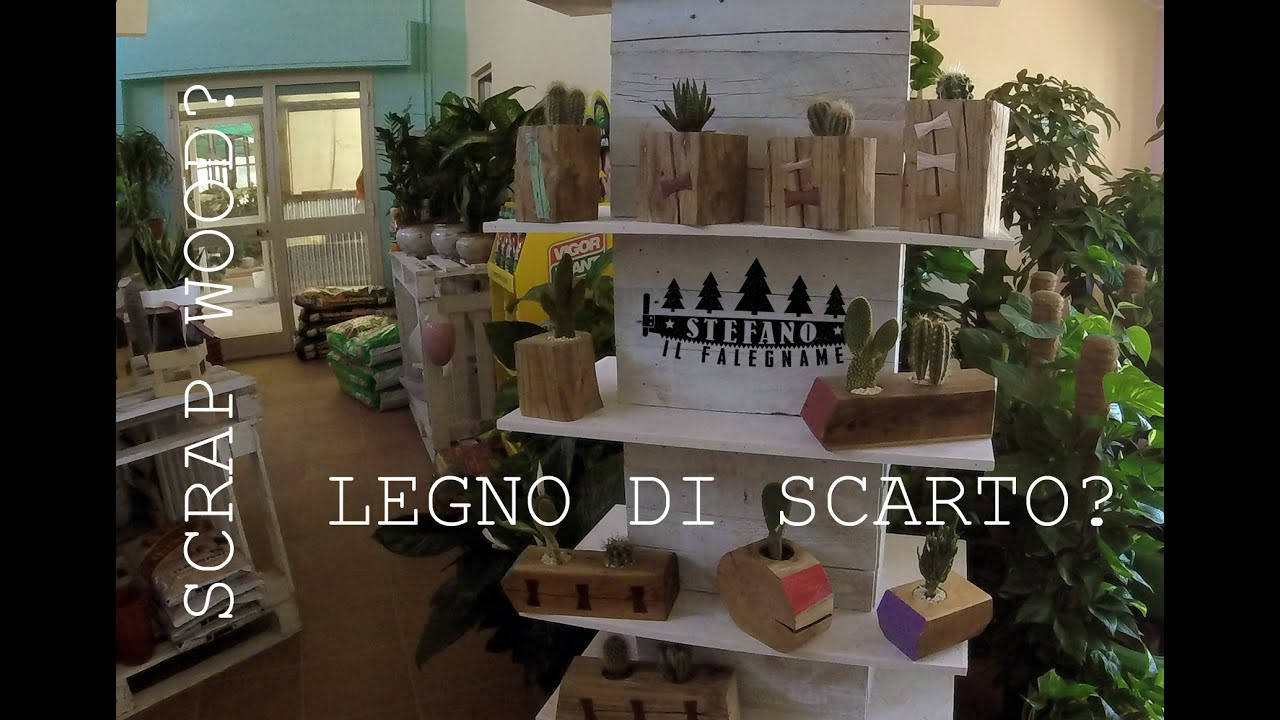 Scaffali Pallets : Scaffale espositore con pallet reclaimed wood shelf youtube