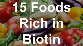 15 Foods Rich in Biotin - Foods With Biotin