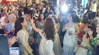 قفشة و شوبير والشحات ومعلول يرقصون على مهرجانات في حفل زفاف حمدي فتحي