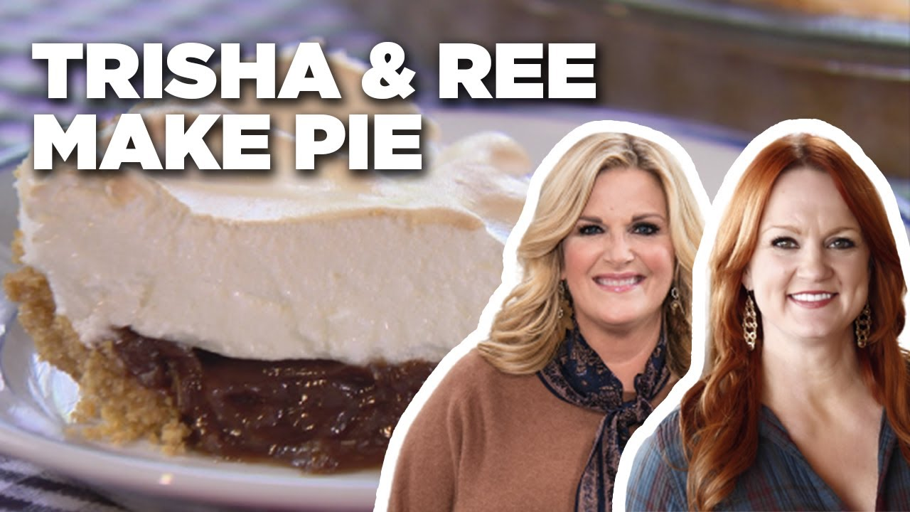 Trisha Yearwood and Ree Drummond Bake Chocolate Pie Together | Food Network