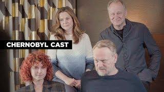 Chernobyl Cast   Deadline Studio at Tribeca 2019