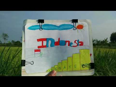 Naura - Lukisan Indonesia #HariPahlawan (Unofficial Lyrics Video)